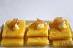 Fried Polenta Pancakes