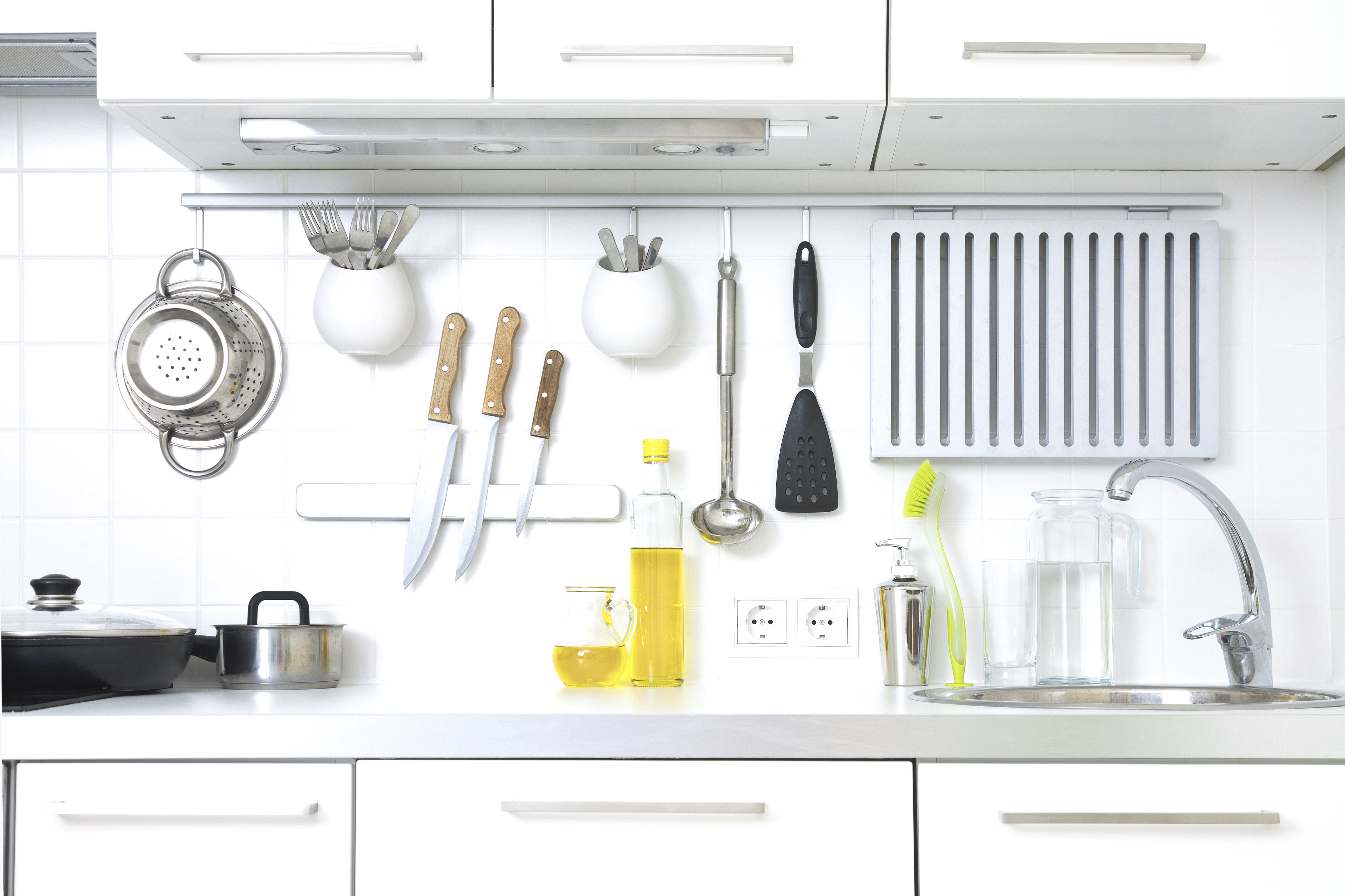 Your Kitchen Workstation Should Be Clean And Well Stocked For A Multitude  Of Dish Preparations. Things You Really Need At Your Prep Station Are A  Cutting ...