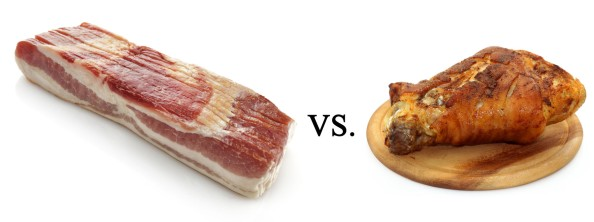 Bacon VS Ham Hock