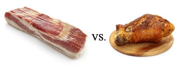 Bacon VS Ham Hock